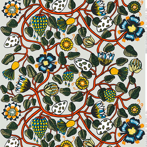 Marimekko Tiara fabric, multicolour