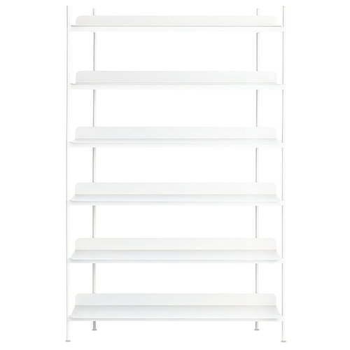 Muuto Compile shelf, Configuration 4, white