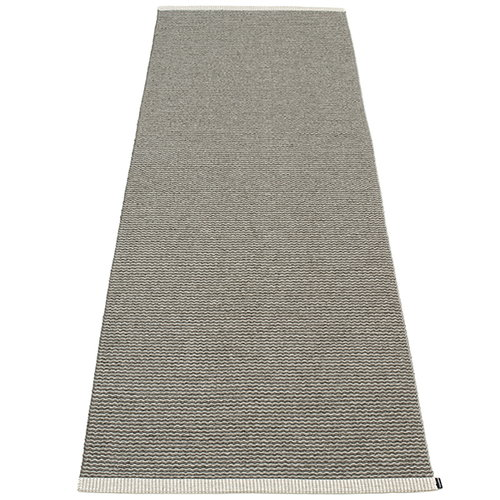 Pappelina Mono rug, 85 x 260 cm, charcoal