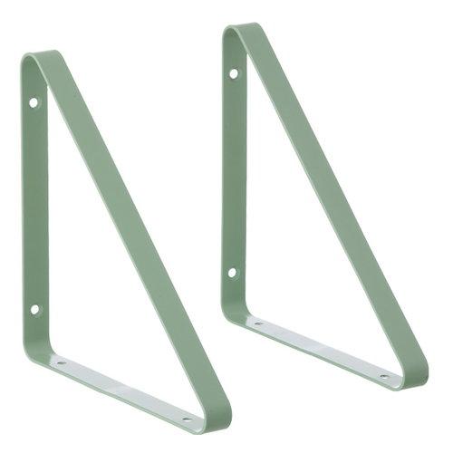 Ferm Living Shelf Hangers 2 pcs, mint