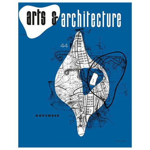 Vitra Cover Print poster, Arts & Architecture, November 1944