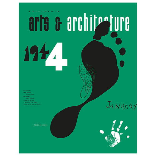 Vitra Cover Print poster, Arts & Architecture, January 1944