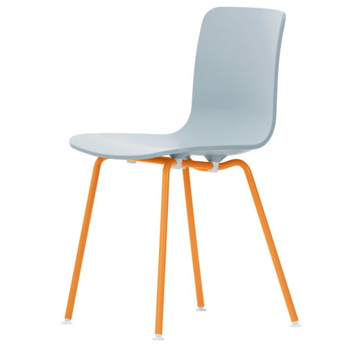Vitra HAL Tube tuoli, harmaa - oranssi