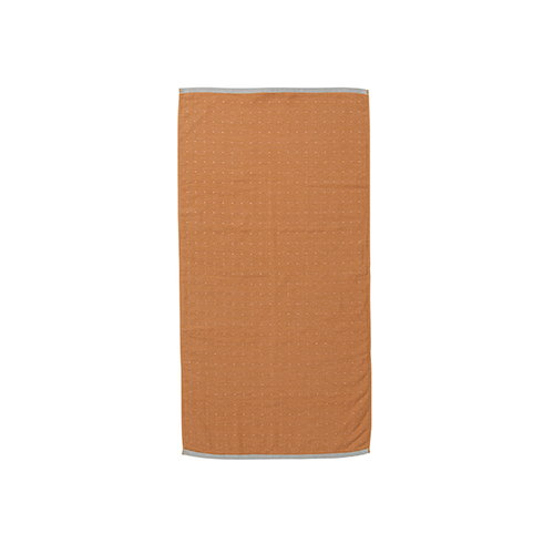 Ferm Living Sento hand towel, mustard