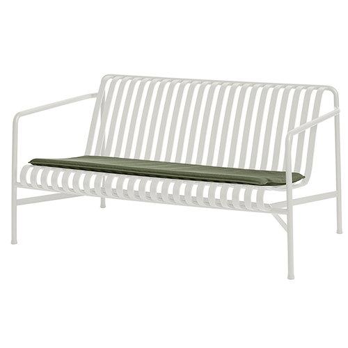 Hay Palissade seat cushion for lounge sofa, olive