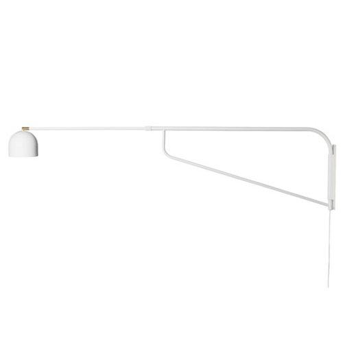 Pholc Bellman wall lamp, white