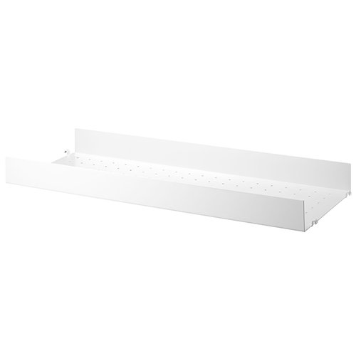String String metal shelf, 78 x 30 cm, high, white
