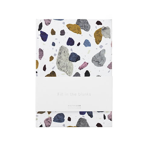 Normann Copenhagen Daily Fiction notebook, small, space stone light