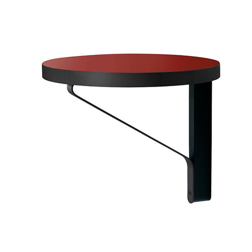 Artek REB 007 Kaari shelf, red / black