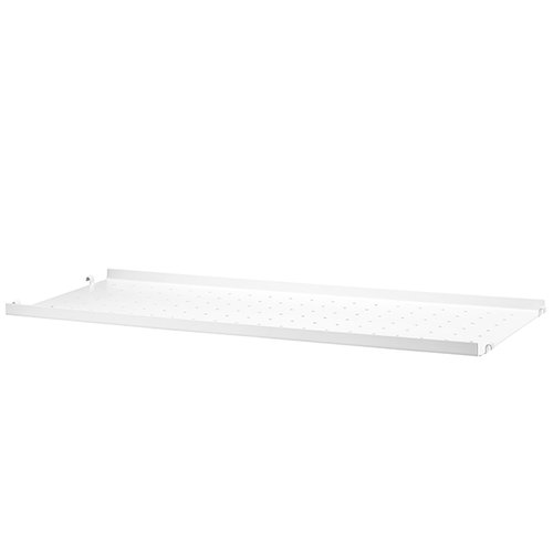 String String metal shelf, 78 x 30 cm, low, white