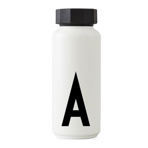 Design Letters Arne Jacobsen thermo bottle, A-Z