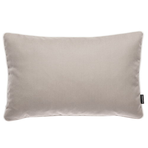Pappelina Sunny outdoor cushion, 38 x 58 cm, mud