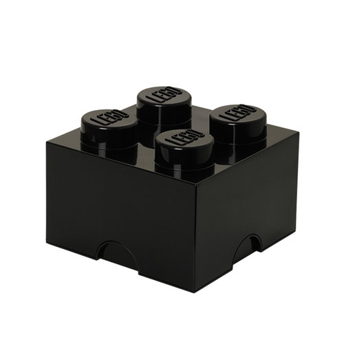 Room Copenhagen Lego Storage Brick 4, black