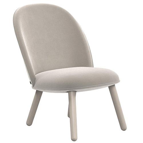 Normann Copenhagen Ace lounge chair, velour, beige