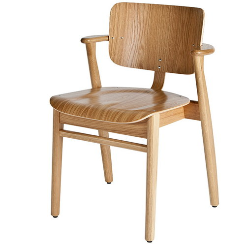 Artek Domus chair, lacquered oak