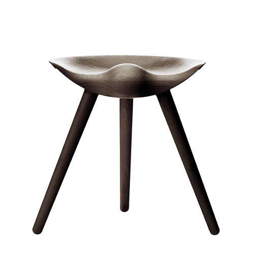 By Lassen ML42 stool, 48 cm, brown oiled oak