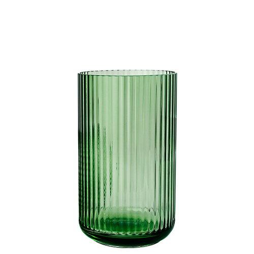 Lyngby Porcelain Lyngby glass vase, 25 cm copenhagen green