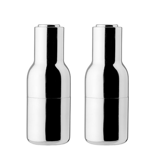 Menu Bottle grinder, 2-pack, mirror polished steel