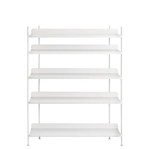 Muuto Compile shelf, Configuration 3, white