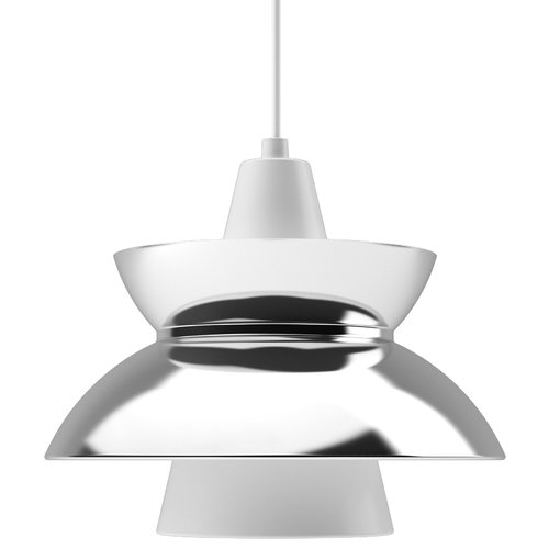 Louis Poulsen Doo-Wop pendant, stainless steel