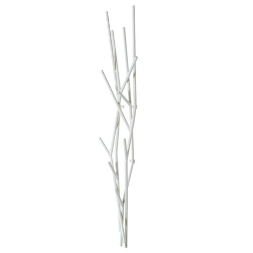Covo Latva wall coat rack, white