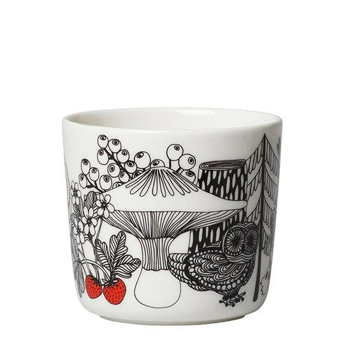 Marimekko Oiva - Veljekset kahvikuppi, korvaton, 2 kpl