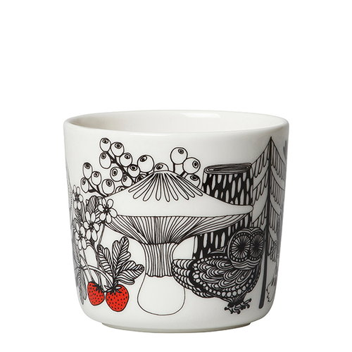 Marimekko Oiva - Veljekset coffee cup without handle, 2 pcs
