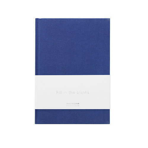 Normann Copenhagen Daily Fiction muistikirja, pieni, ink blue