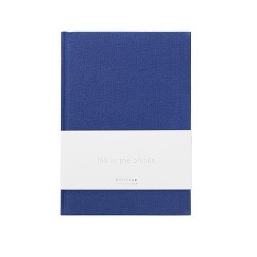 Normann Copenhagen Daily Fiction notebook, small, ink blue