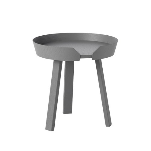 Muuto Around table small, dark grey