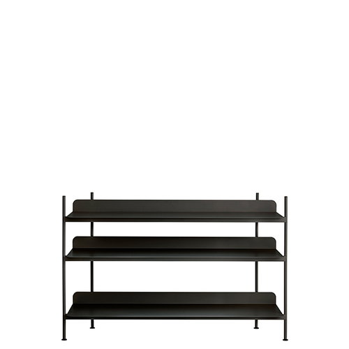 Muuto Compile shelf, Configuration 2, black