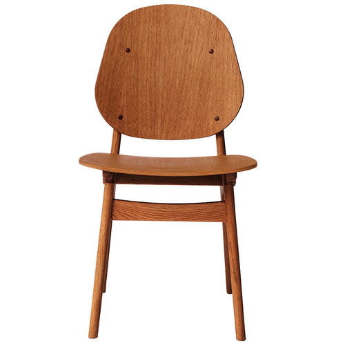 Warm Nordic Noble chair, teak oiled oak