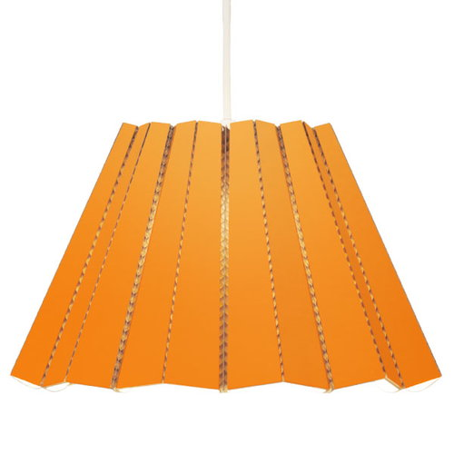 Andbros Model No. 1 pendant lamp, orange
