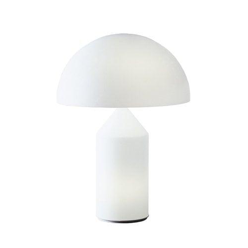 Oluce Atollo 236 table lamp, white