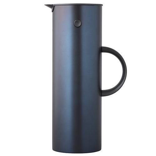 Stelton EM77 termoskannu 1,0 L, tummansininen metalli