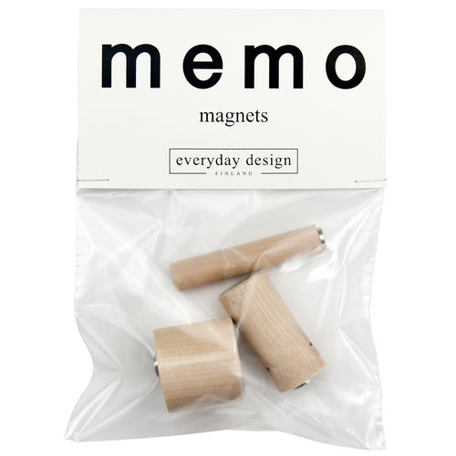 Everyday Design Memo magnets, set of 3