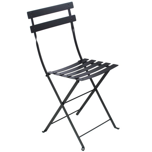 Fermob Bistro Metal chair, liquorice