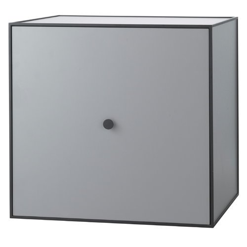 By Lassen Frame 49 box with door, dark grey