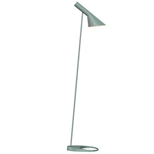 Louis Poulsen AJ floor lamp, light petrol