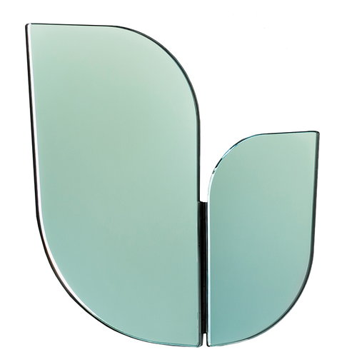 Katriina Nuutinen Perho mirror, medium, light green