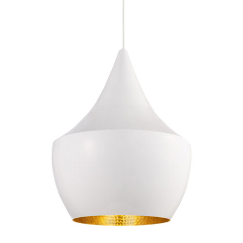 Tom Dixon Beat Light Fat valaisin, valkoinen