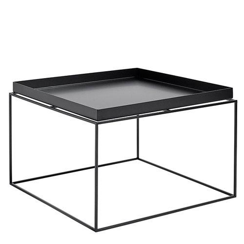 hay tray table large black finnish design shop. Black Bedroom Furniture Sets. Home Design Ideas