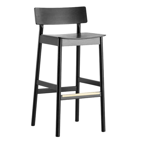 Woud Pause bar stool 65 cm, black