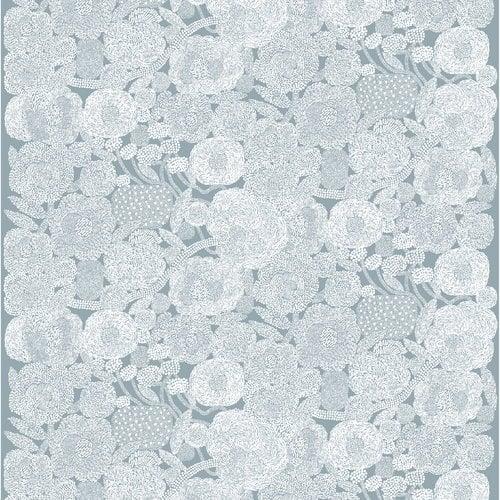 Marimekko Mynsteri fabric, grey - white