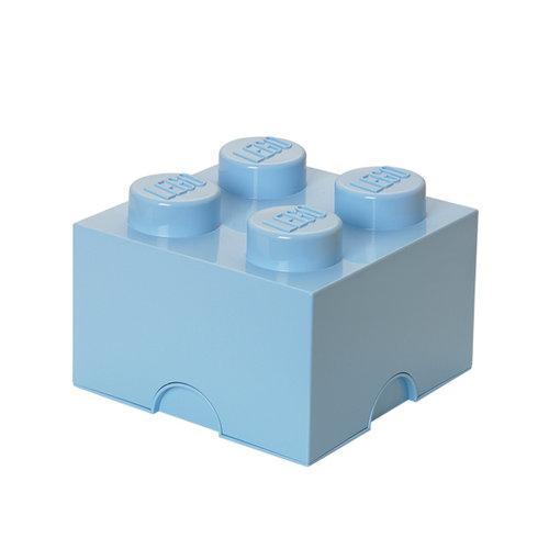 Room Copenhagen Lego Storage Brick 4, light royal blue