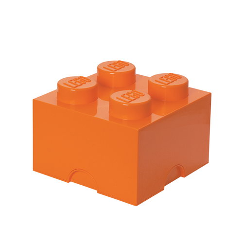 Room Copenhagen Lego Storage Brick 4, orange