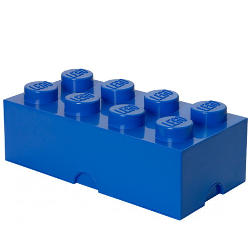 Room Copenhagen Lego Storage Brick 8, blue
