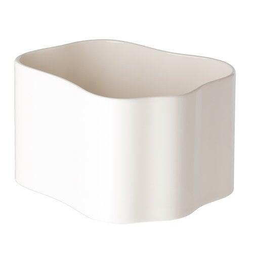 Artek Riihitie ruukku B, keskikokoinen, kiilt�v� valkoinen