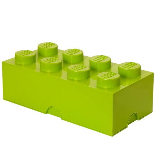 Room Copenhagen Lego Storage Brick 8, lime