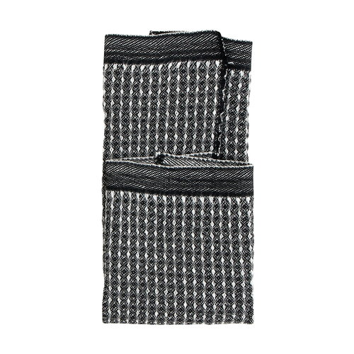 Lapuan Kankurit Maija dishcloth, black - white